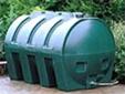 modern integrally bunded oil tank